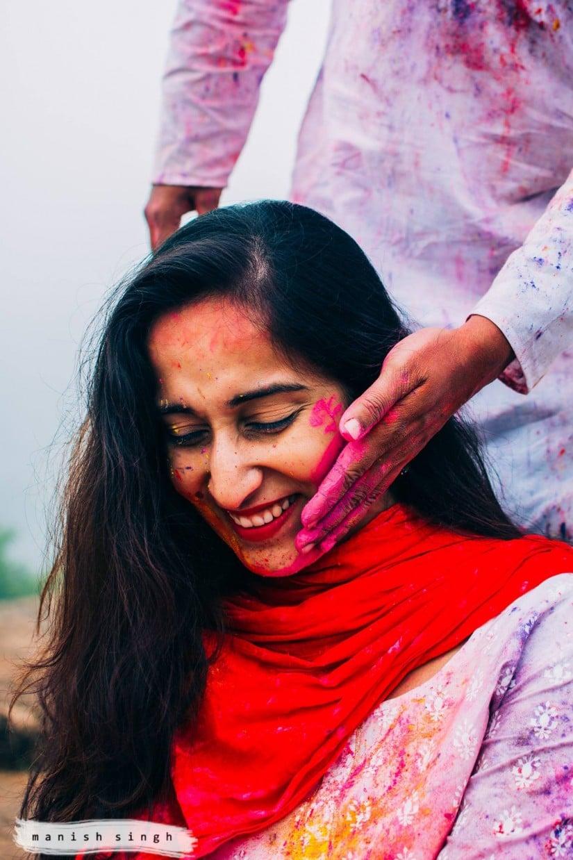 Manish Singh Photography Amita Holi3