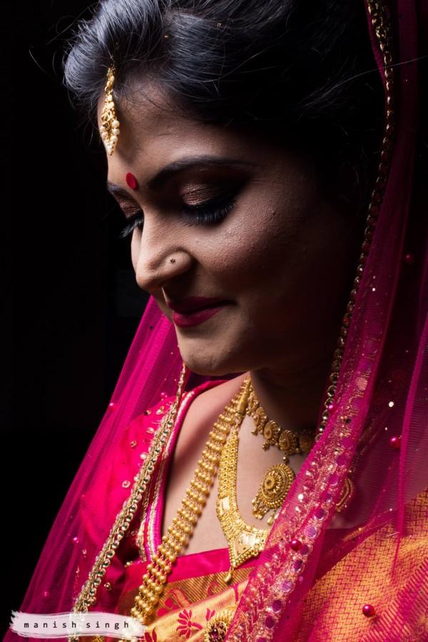 Manish Singh Photography Bridal Portrait