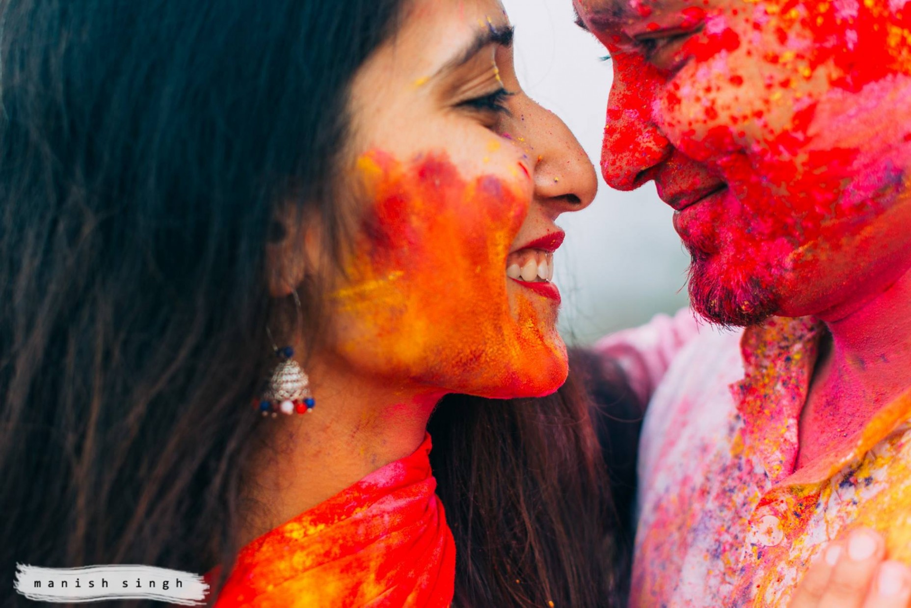 manish singh photography Holi-pre-weding Bhubaneswar