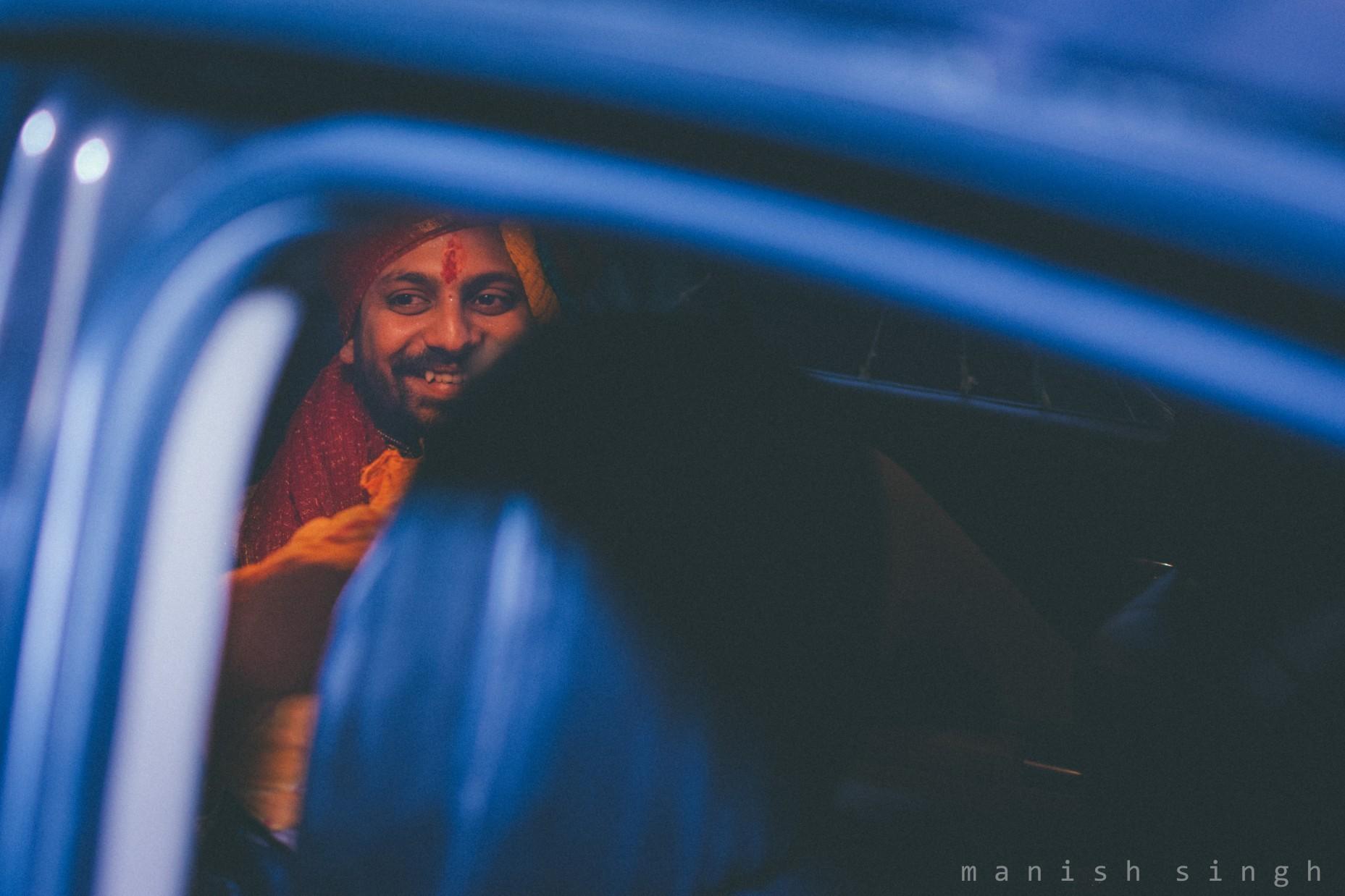 Manish Singh Photography Groom smile