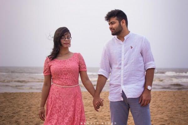 Manish Singh Photography Pre-wedding Konark beach