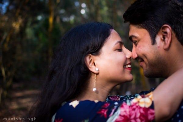 Manish Singh Photography Pre-wedding couple