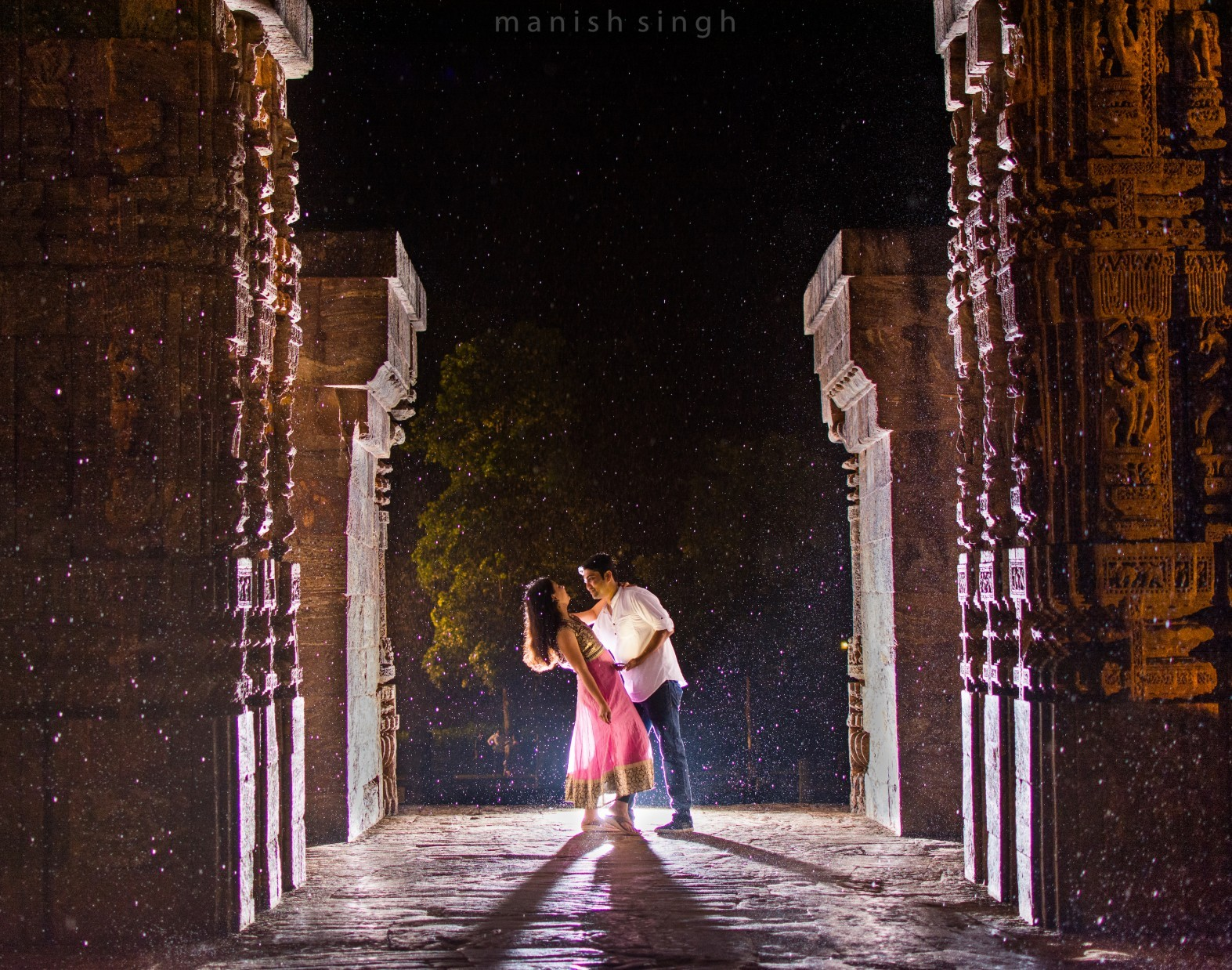Manish Singh Photography Pre-wedding konark backlit