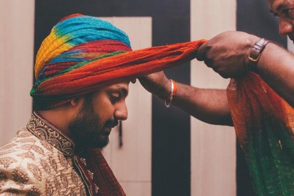 Manish Singh Photography getting ready groom