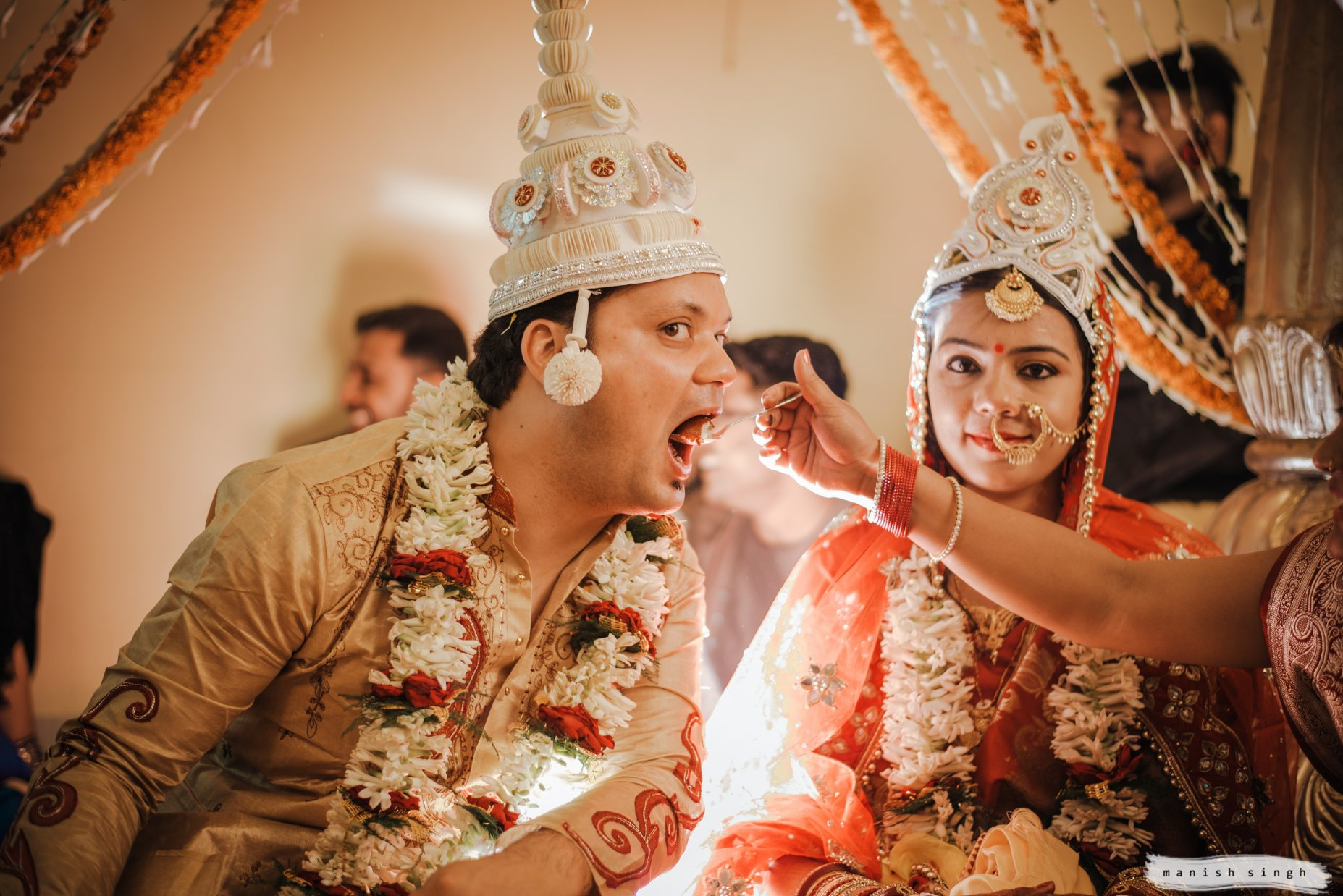 Bengali Wedding Rituals Manish Singh Photography