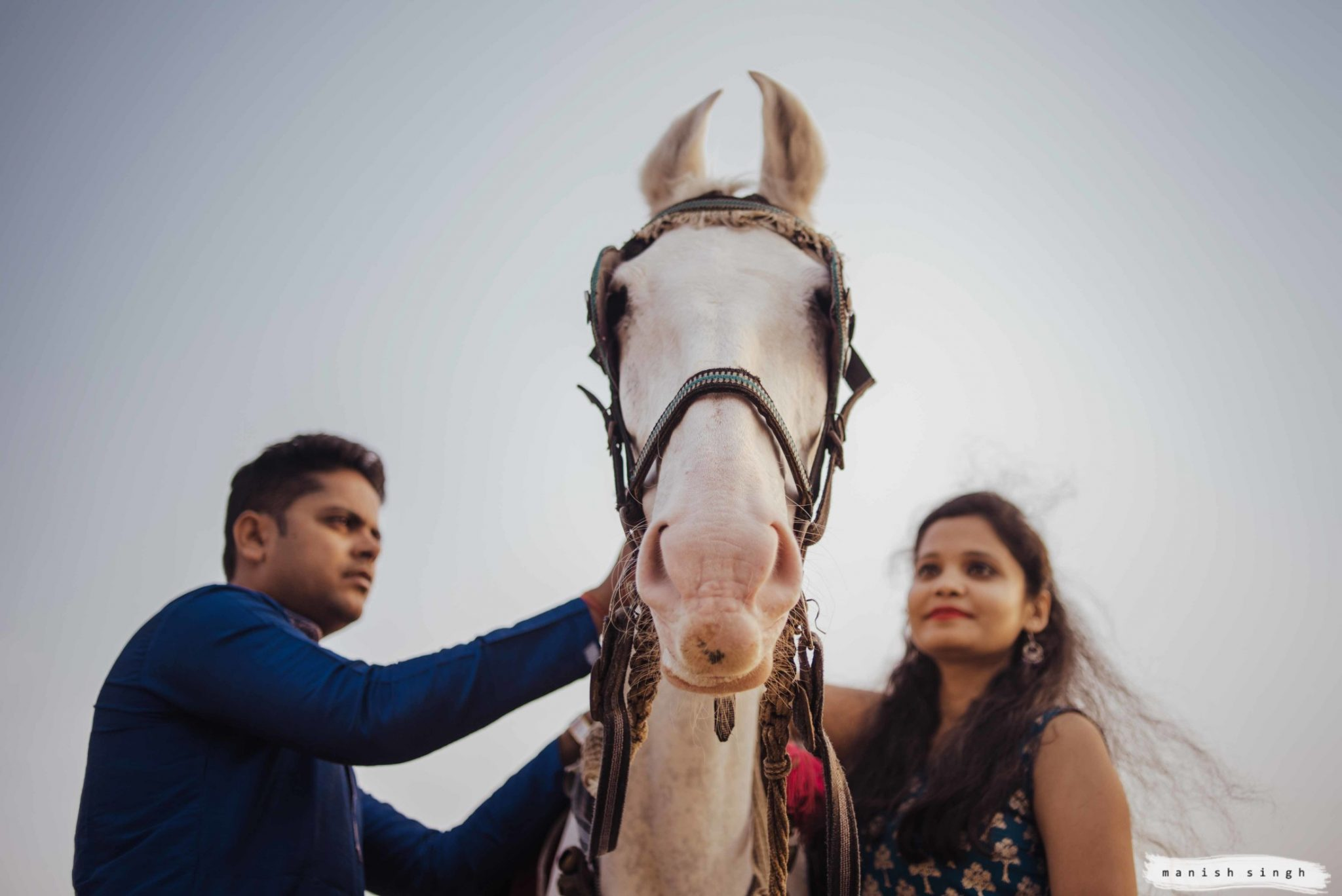 Pre wedding photoshoot with Horse puri beach