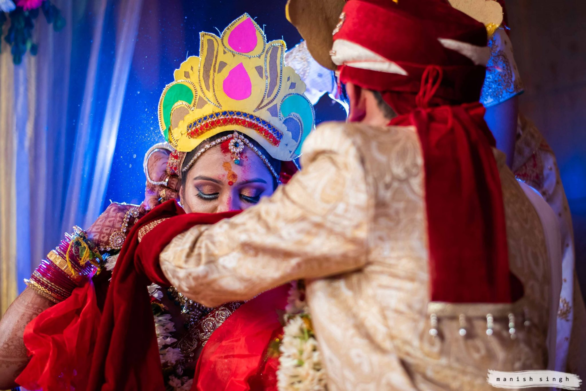 sindoor daan in Bhubaneswar wedding