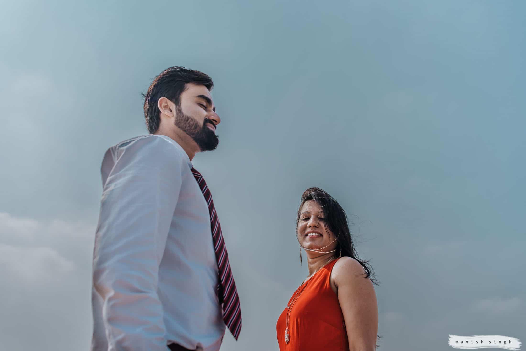 Pre-wedding photoshoot Banglore