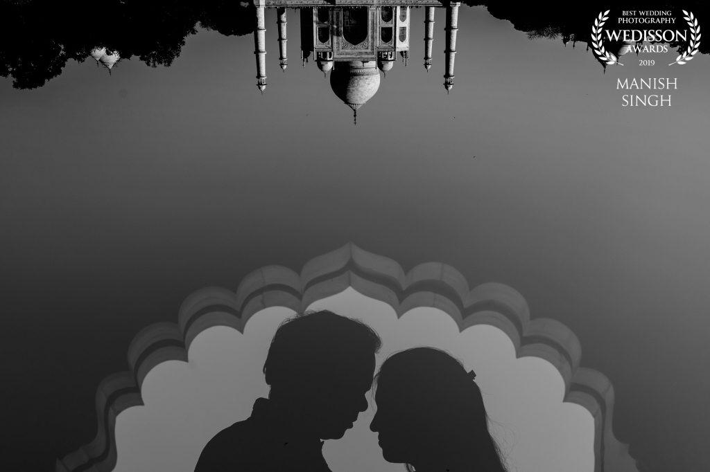 International Award winning photographer from Bhubaneswar Taj Mahal
