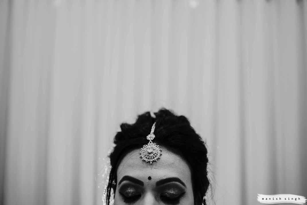bridal artistic headshot