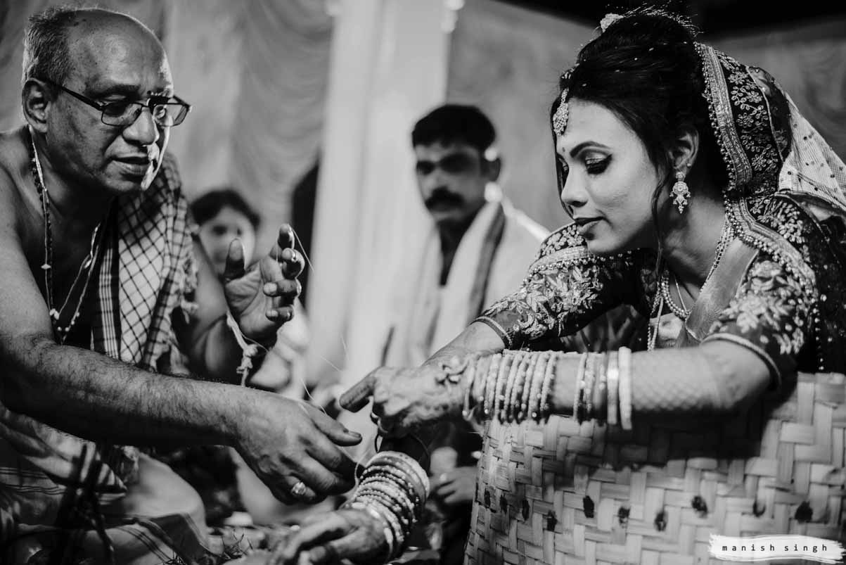 Telugu wedding ritual at hotel new marrion bhubaneswar