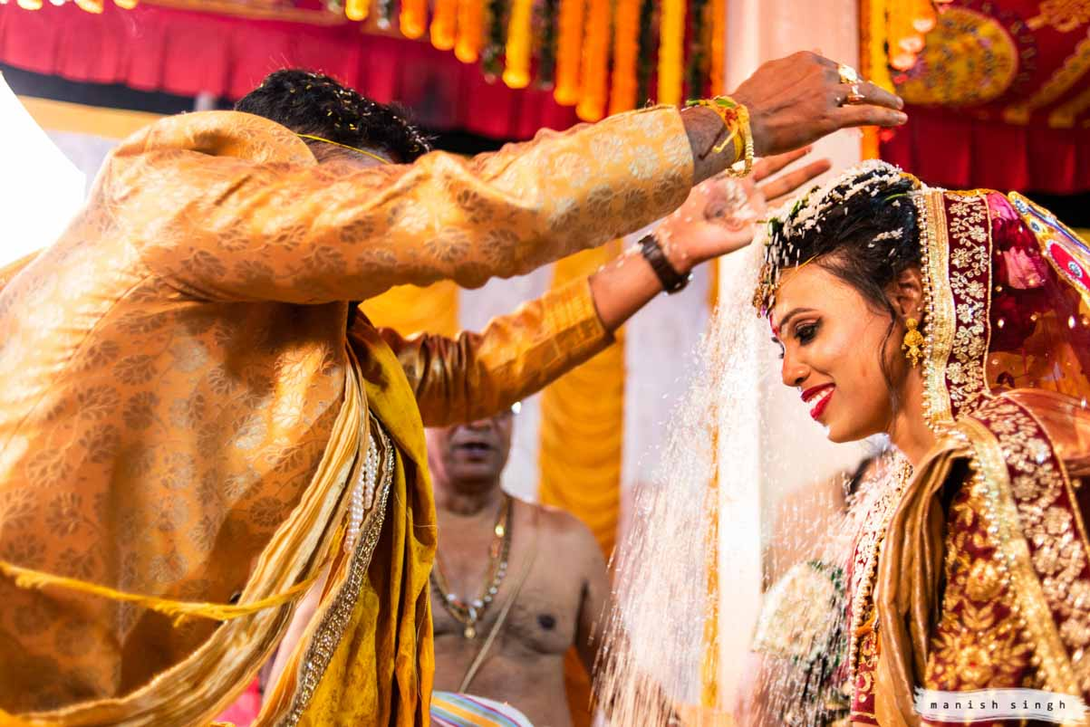 Talambralu a telugu wedding ritual Bhubaneswar